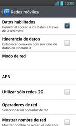 LG Optimus L5 II - Internet - Configurar Internet - Paso 7