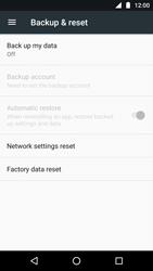 Motorola Moto G5 - Device - Factory reset - Step 4