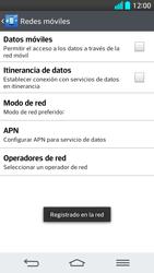 LG G2 - Red - Seleccionar una red - Paso 11