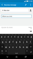 HTC Desire 820 - Contact, Appels, SMS/MMS - Envoyer un MMS - Étape 12