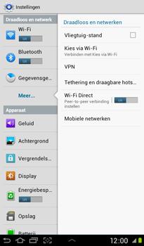 Samsung P3100 Galaxy Tab 2 7-0 - Internet - aan- of uitzetten - Stap 5