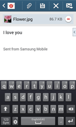 Samsung Galaxy Core Plus - Email - Sending an email message - Step 19