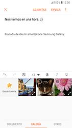 Samsung Galaxy S6 - Android Nougat - E-mail - Escribir y enviar un correo electrónico - Paso 11