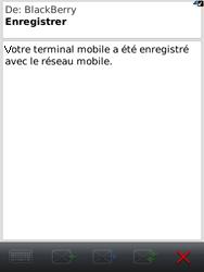 BlackBerry 9800 Torch - Paramètres - Reçus par SMS - Étape 11