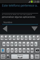 Samsung S6310 Galaxy Young - Primeros pasos - Activar el equipo - Paso 10