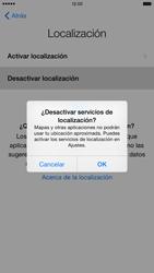 Apple iPhone 6 Plus iOS 8 - Primeros pasos - Activar el equipo - Paso 11