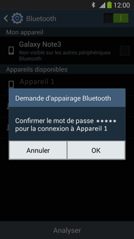 Samsung N9005 Galaxy Note III LTE - Bluetooth - connexion Bluetooth - Étape 9
