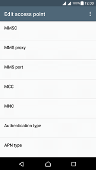 Sony Xperia L1 - Mms - Manual configuration - Step 13