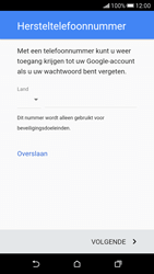 HTC Desire 626 - Applicaties - Account aanmaken - Stap 11