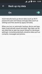 Acer Liquid Z6 Dual SIM - Device maintenance - Create a backup of your data - Step 7