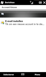 HTC T8585 HD II - E-mail - Hoe te versturen - Stap 4