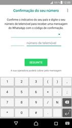 Sony Xperia XZ - Android Nougat - Aplicações - Como configurar o WhatsApp -  9