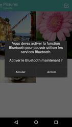 Motorola Moto E (1st Gen) (Lollipop) - Photos, vidéos, musique - Envoyer une photo via Bluetooth - Étape 10