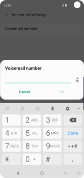 Samsung Galaxy S10 - Voicemail - Manual configuration - Step 11