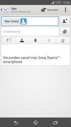 Sony D5103 Xperia T3 - E-mail - hoe te versturen - Stap 8
