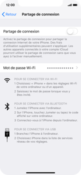 Apple iPhone XS - Internet - comment configurer un point d'accès mobile - Étape 4