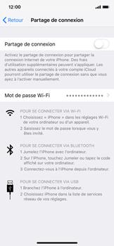 Apple iPhone XS - iOS 12 - Internet et connexion - Partager votre connexion en Wi-Fi - Étape 4