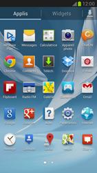 Samsung Galaxy Note 2 - Internet et connexion - Désactiver la connexion Internet - Étape 3