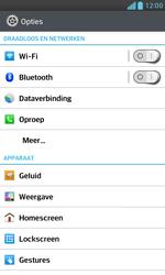 LG E975 Optimus G - WiFi - Handmatig instellen - Stap 5