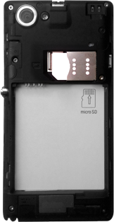 Sony Xperia L - Primeros pasos - Quitar y colocar la batería - Paso 5