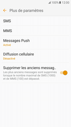 Samsung Galaxy J5 (2016) - SMS - configuration manuelle - Étape 7