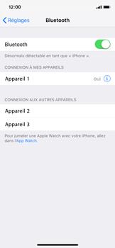 Apple iPhone XS - iOS 12 - Internet et connexion - Connexion avec un équipement multimédia via Bluetooth - Étape 7