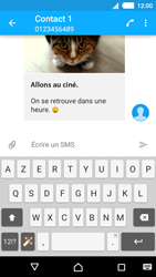 Sony Xperia M4 Aqua - Contact, Appels, SMS/MMS - Envoyer un MMS - Étape 18