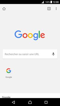 Sony Xperia Z5 Premium (E6853) - Android Nougat - Internet - Navigation sur Internet - Étape 16