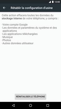 Huawei Google Nexus 6P - Device maintenance - Retour aux réglages usine - Étape 7