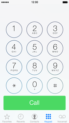 Apple iPhone 5 iOS 7 - Voicemail - Manual configuration - Step 4