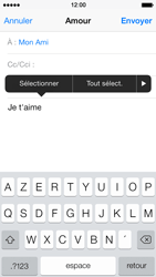 Apple iPhone 5s - E-mail - envoyer un e-mail - Étape 8