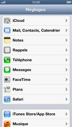 Apple iPhone 5 - Applications - Créer un compte - Étape 3