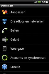 HTC A510e Wildfire S - Voicemail - handmatig instellen - Stap 4