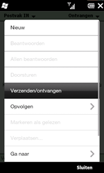 HTC T8585 HD II - E-mail - hoe te versturen - Stap 14