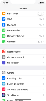 Apple iPhone X - Red - Seleccionar el tipo de red - Paso 3