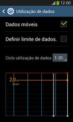 Samsung Galaxy Ace 3 LTE - Internet no telemóvel - Como ativar os dados móveis -  6