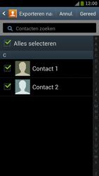 Samsung I9300 Galaxy S III - Contacten en data - Contacten kopiëren van toestel naar SIM - Stap 4