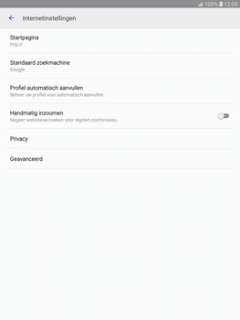 Samsung Galaxy Tab S2 9.7 (T815) - Internet - Handmatig instellen - Stap 25