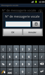 Samsung I9070 Galaxy S Advance - Messagerie vocale - configuration manuelle - Étape 8