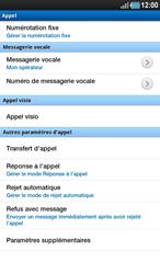 Samsung P1000 Galaxy Tab - Messagerie vocale - Configuration manuelle - Étape 5