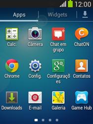 Samsung S5310B Galaxy Pocket Neo - Rede móvel - Como ativar e desativar o modo avião no seu aparelho - Etapa 3