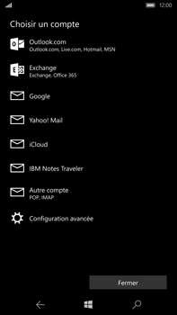 Microsoft Lumia 950 XL - E-mail - Configuration manuelle - Étape 7