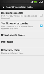HTC Desire 500 - Réseau - utilisation à l'étranger - Étape 8