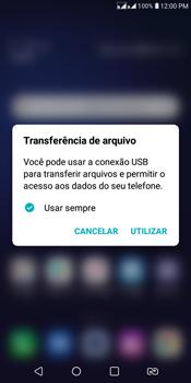 LG K12+ - Conexão com pc - Transferir dados do telefone para o computador (Windows) - Etapa 2
