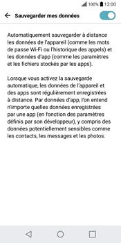 LG Q6 - Device maintenance - Back up - Étape 10