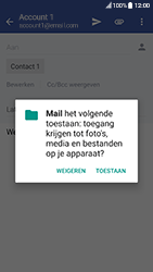 HTC 10 - Android Nougat - E-mail - hoe te versturen - Stap 11