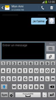 Samsung Galaxy Note 3 - Contact, Appels, SMS/MMS - Envoyer un SMS - Étape 11