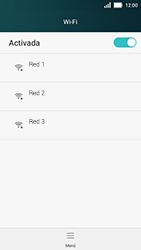 Huawei Y5 - WiFi - Conectarse a una red WiFi - Paso 5