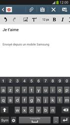Samsung I9505 Galaxy S IV LTE - E-mail - envoyer un e-mail - Étape 9