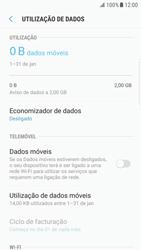 Samsung Galaxy S6 Edge - Android Nougat - Internet no telemóvel - Como ativar os dados móveis -  6